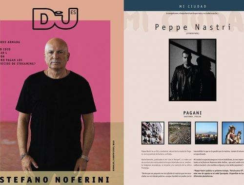 Dj Magazine Peppe Nastri