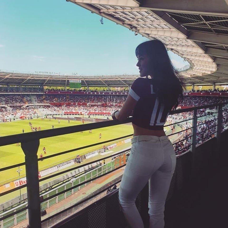 Vittoria Castagnotto con maglia Torino