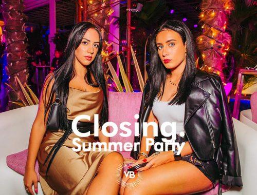 Villa Bonin Closing Summer Party