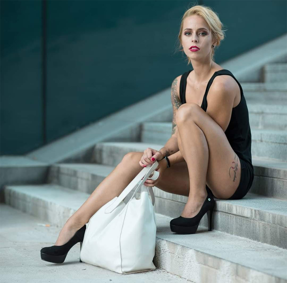 Andrea Alice Porrega model