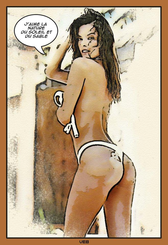 Alessandra Ambro fumetto