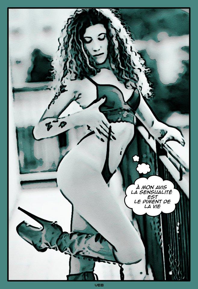 Helena Galanti fumetto